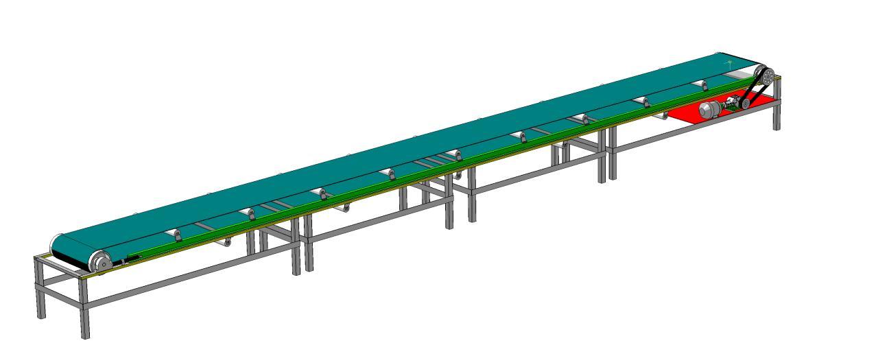 Модель конвейера в 3d ленточные конвейеры форум
