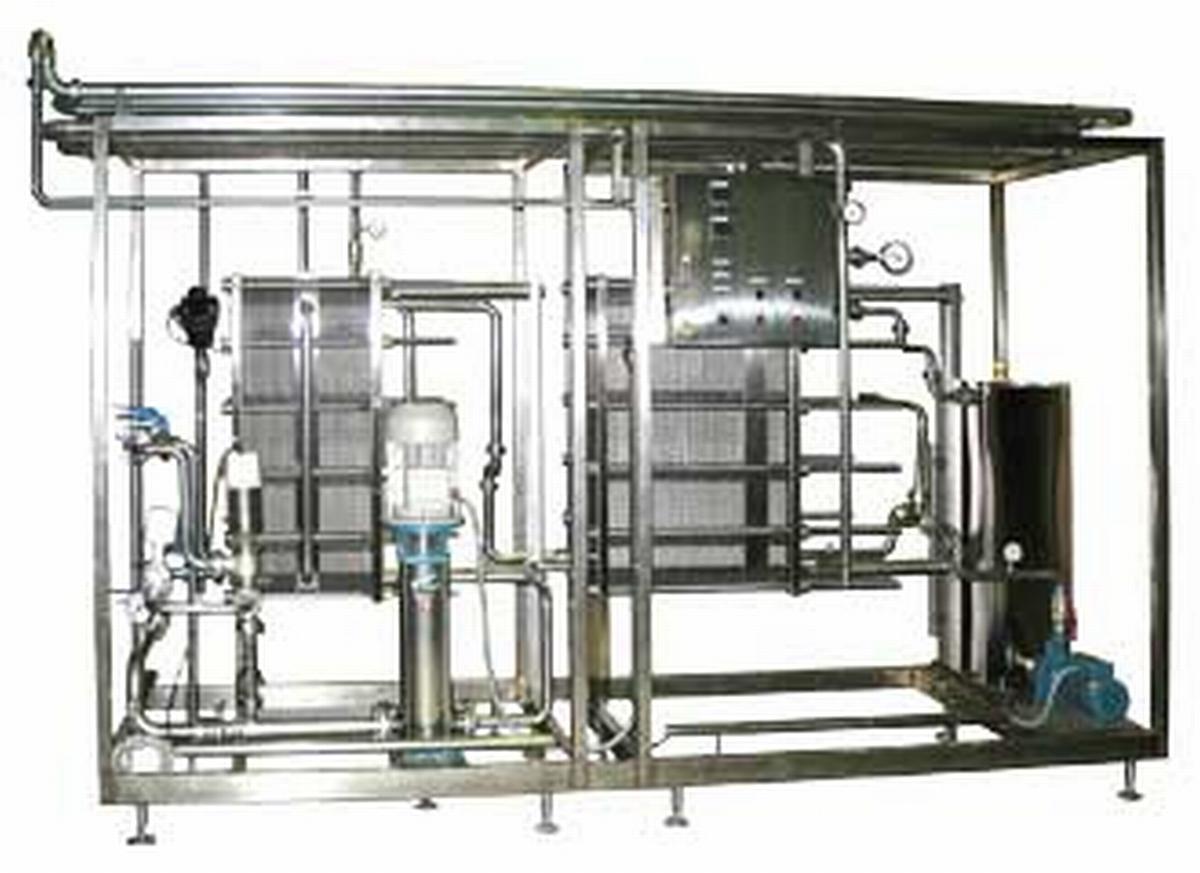 Пластинчатый теплообменник с выдерживателем для производства пива теплообменник спрос