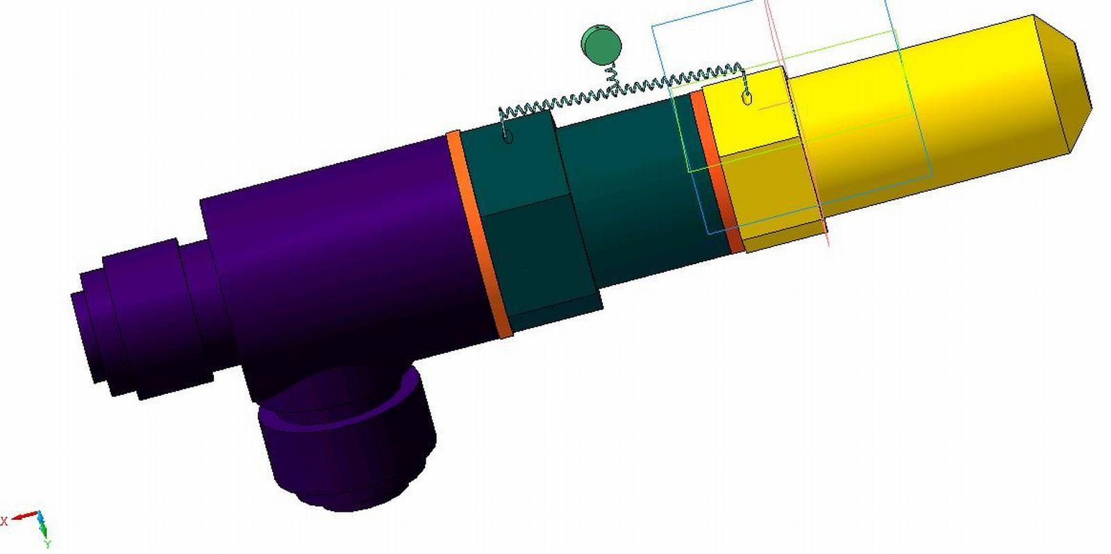 Предохранительный клапан 3 Bar 1/2 -3/4  г/г - купить по.