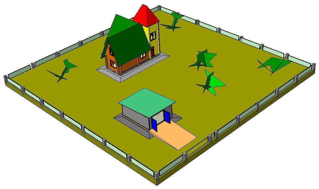 Схема планировочной организации земельного участка (спзу), генеральный план земельного участка